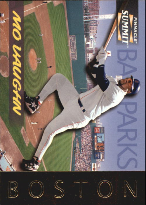1996 Summit Ballparks #4 Mo Vaughn