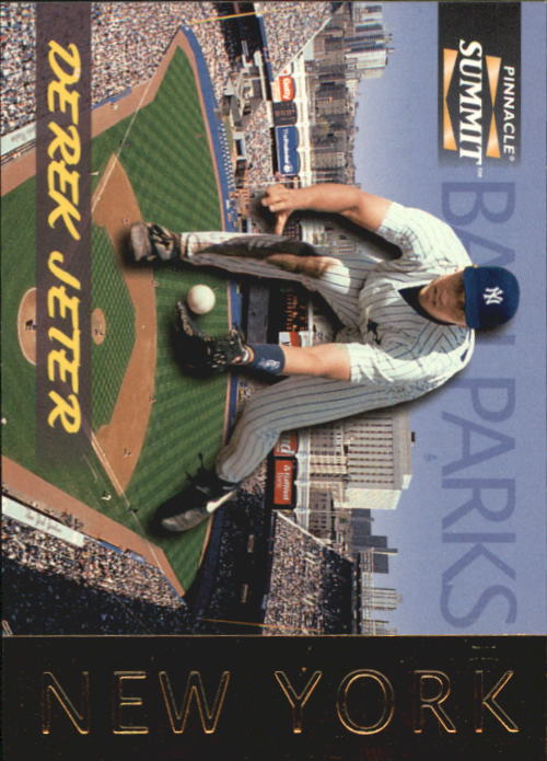 1996 Summit Ballparks #6 Derek Jeter