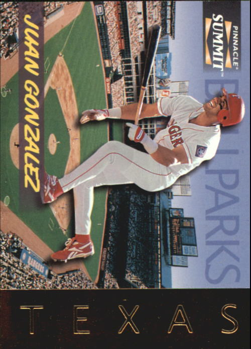 1996 Summit Ballparks #7 Juan Gonzalez