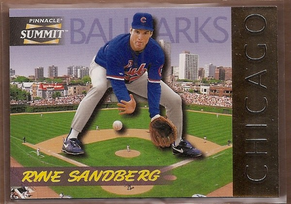 1996 Summit Ballparks #10 Ryne Sandberg