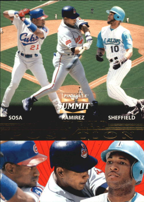 1996 Summit Positions #9 S.Sosa/M.Ramirez/Sheff