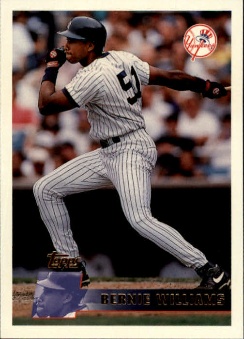 1996 Topps #68 Bernie Williams