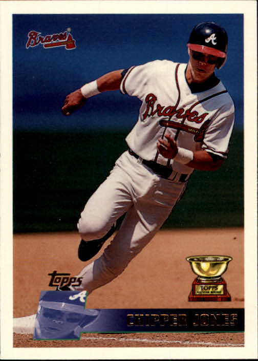 1996 Topps #177 Chipper Jones