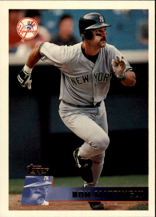 1996 Topps #185 Don Mattingly