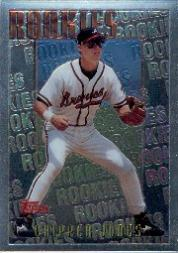 1996 Topps Mystery Finest #M4 Chipper Jones