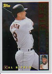 1996 Topps Profiles #AL8 Cal Ripken front image
