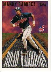 1996 Topps Road Warriors #RW13 Manny Ramirez