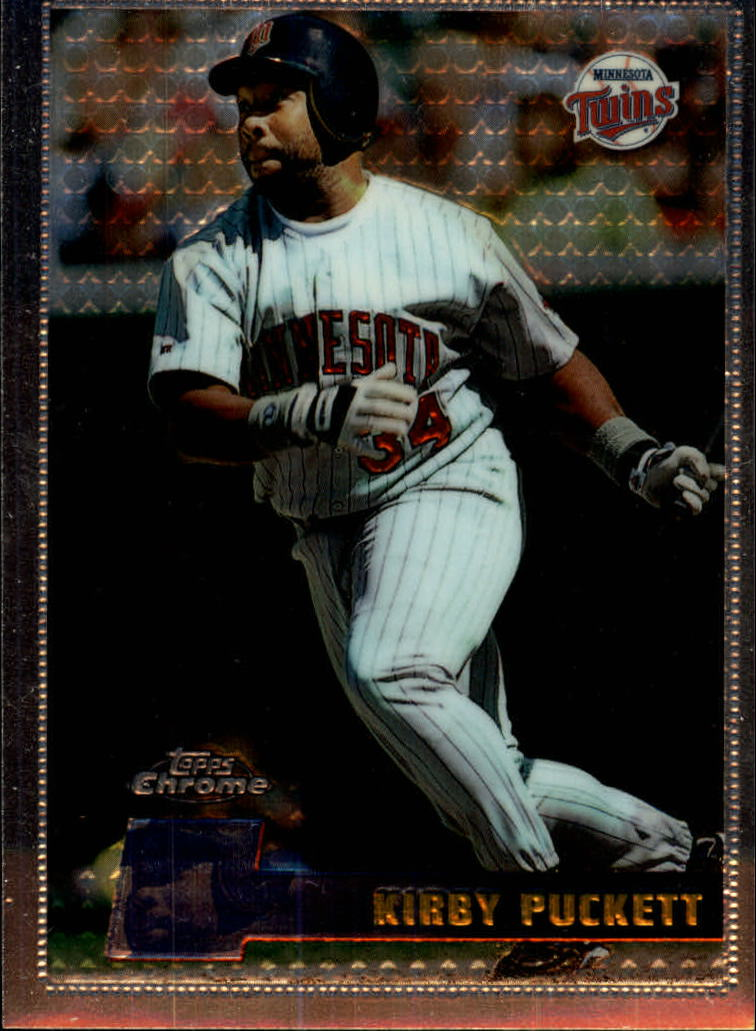 1996 Topps Chrome #19 Kirby Puckett