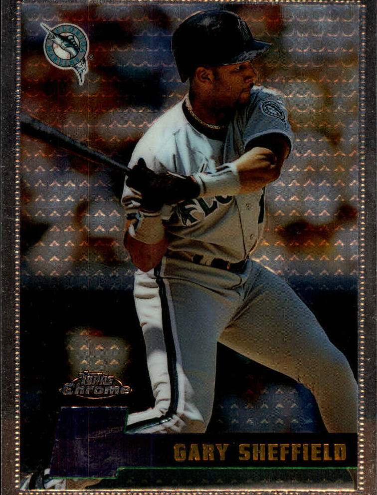 1996 Topps Chrome #27 Gary Sheffield