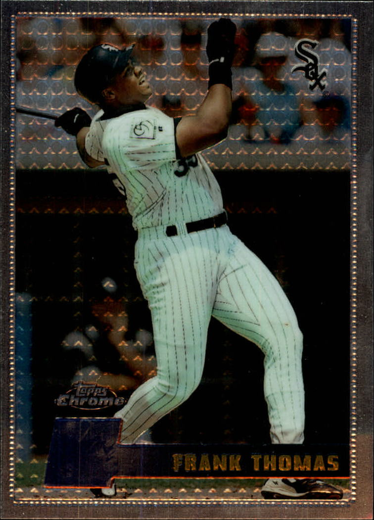 1996 Topps Chrome #29 Frank Thomas