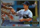 1996 Topps Chrome #37 Hideo Nomo