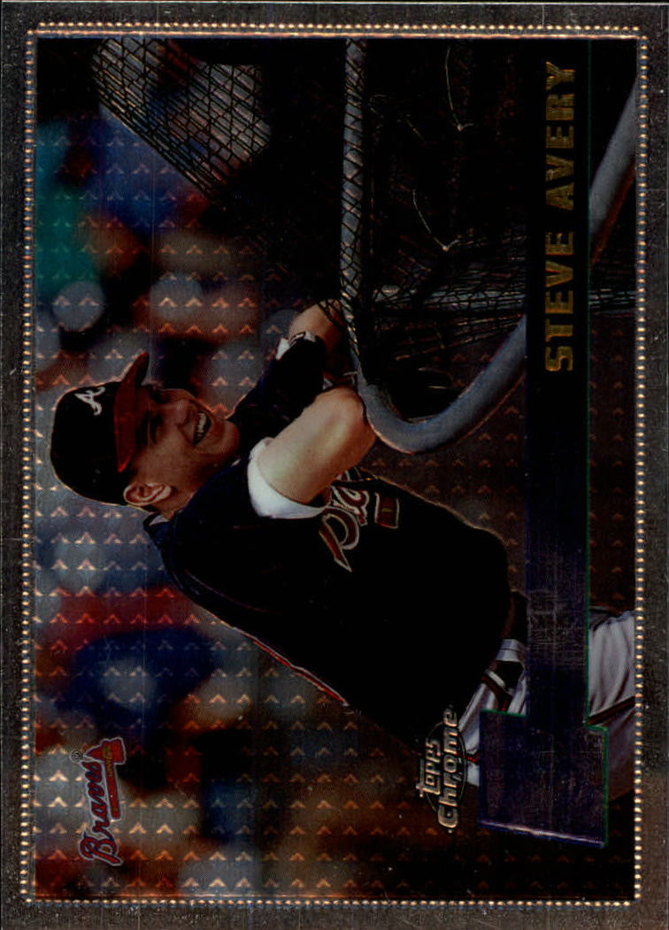 1996 Topps Chrome #47 Steve Avery
