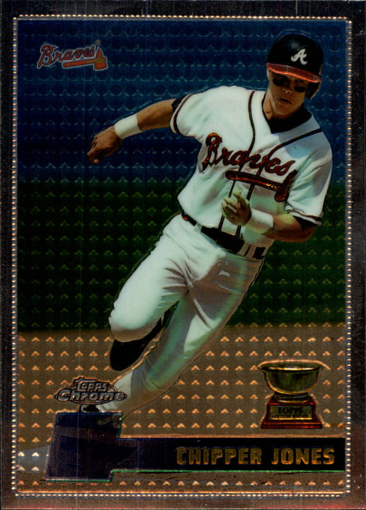 1996 Topps Chrome #52 Chipper Jones