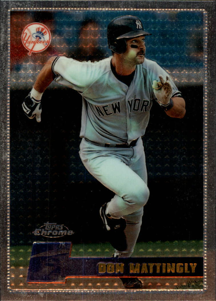 1996 Topps Chrome #56 Don Mattingly