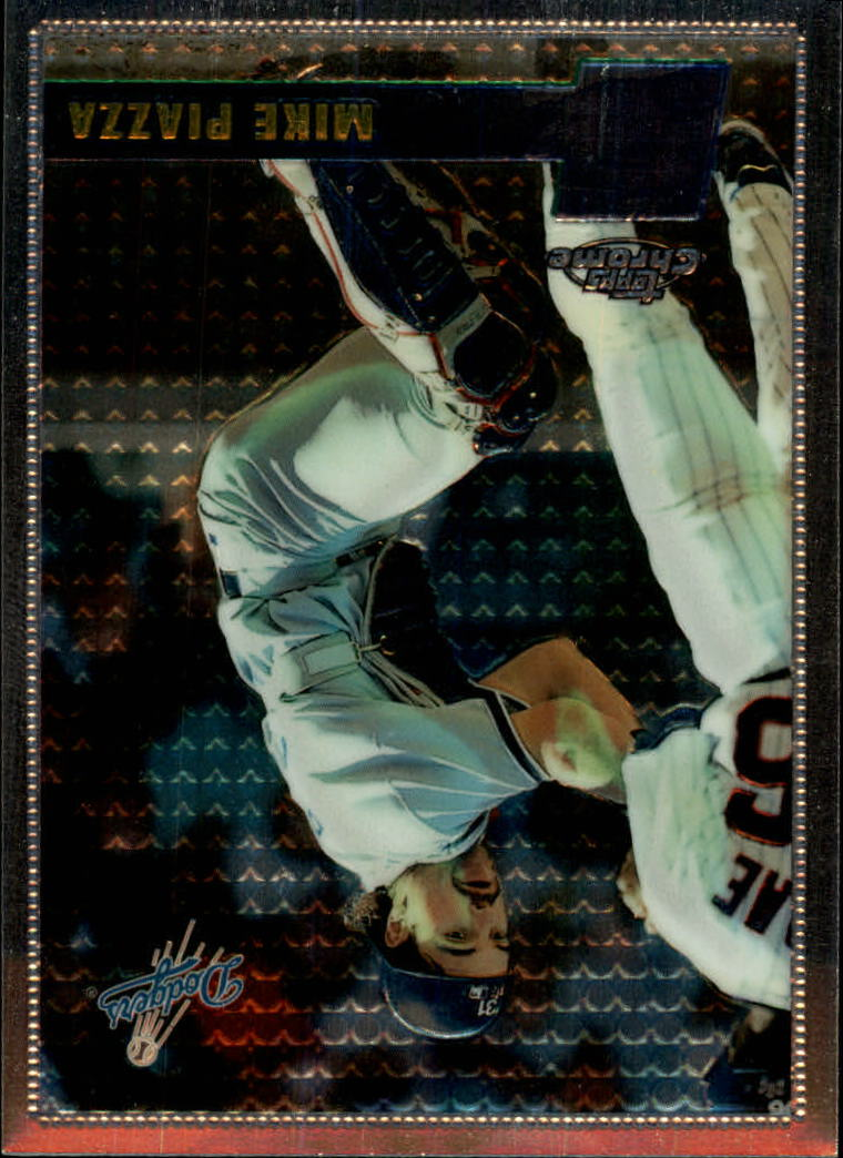 1996 Topps Chrome #93 Mike Piazza