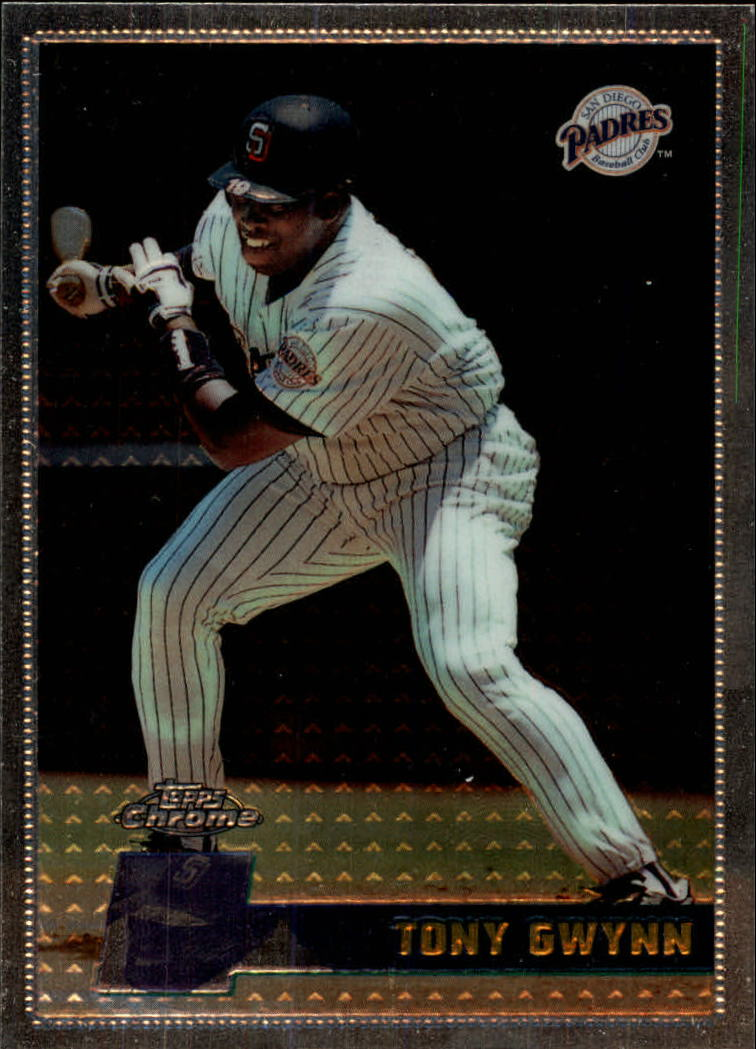 1996 Topps Chrome #97 Tony Gwynn