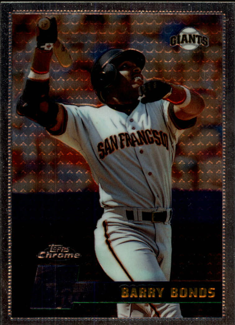 1996 Topps Chrome #119 Barry Bonds