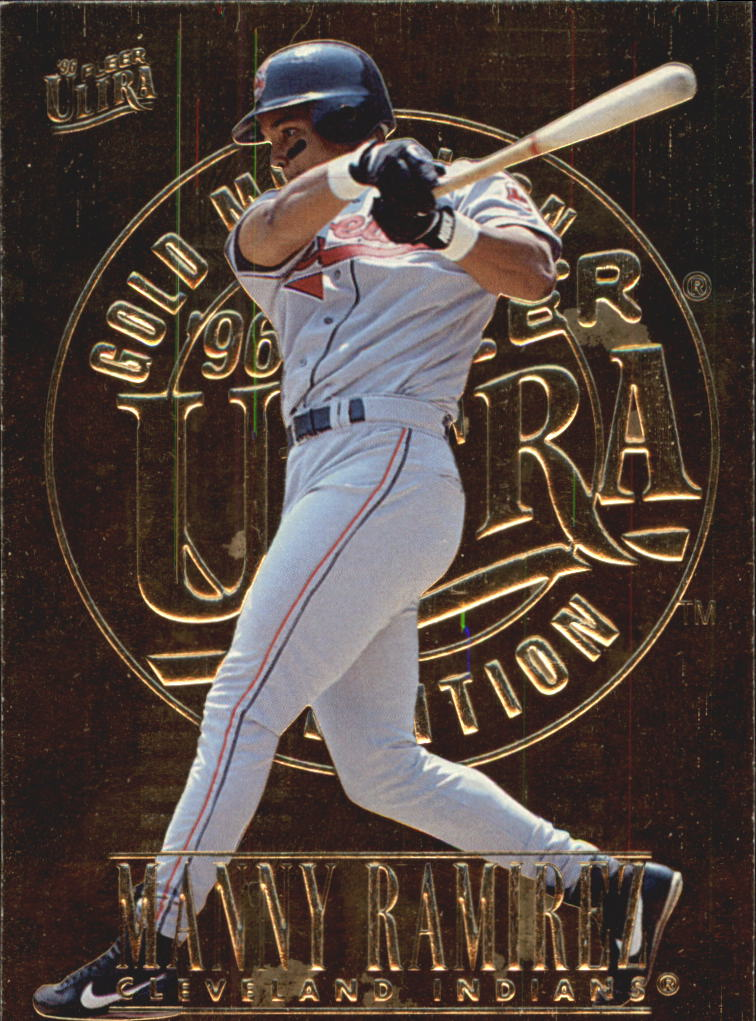 1996 Ultra Gold Medallion #53 Manny Ramirez