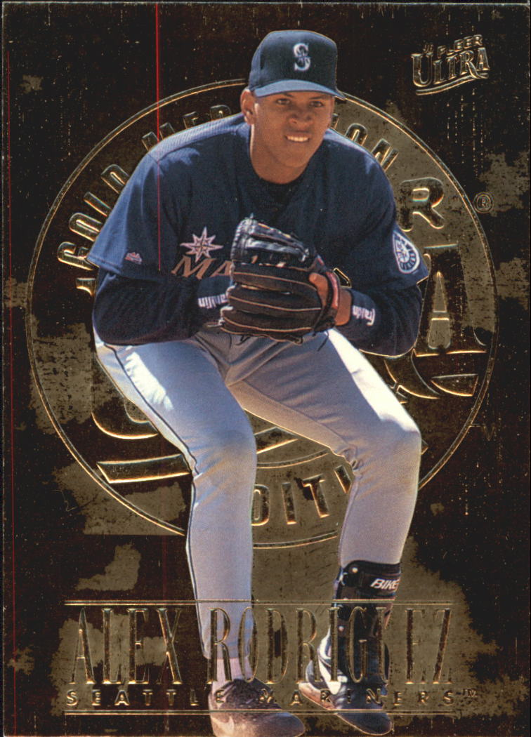 1996 Ultra Gold Medallion #130 Alex Rodriguez