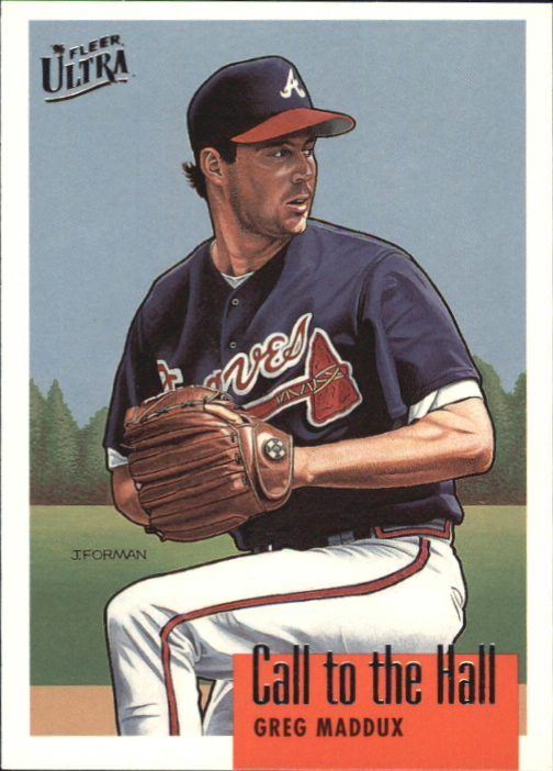 1996 Ultra Call to the Hall #5 Greg Maddux