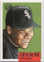 1996 Ultra Call to the Hall Gold Medallion #10 Frank Thomas