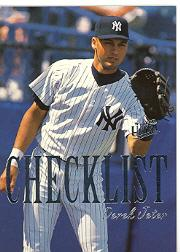 1996 Ultra Checklists #B5 Derek Jeter
