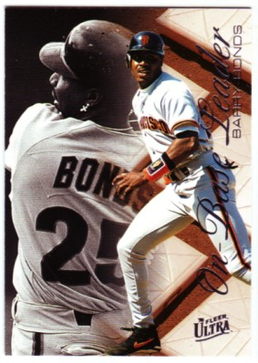 1996 Ultra On-Base Leaders #2 Barry Bonds