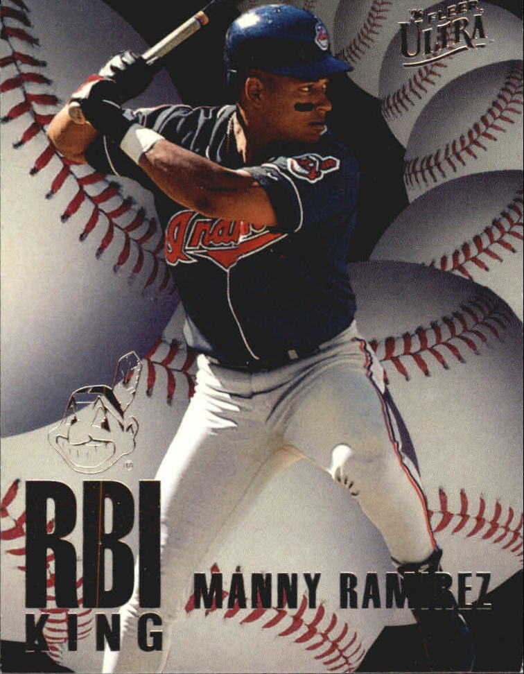 1996 Ultra RBI Kings #6 Manny Ramirez