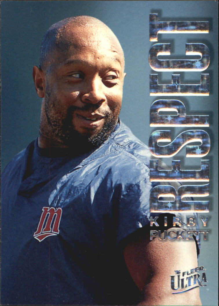 1996 Ultra Respect #6 Kirby Puckett