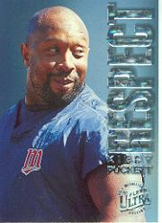 1996 Ultra Respect Gold Medallion #6 Kirby Puckett