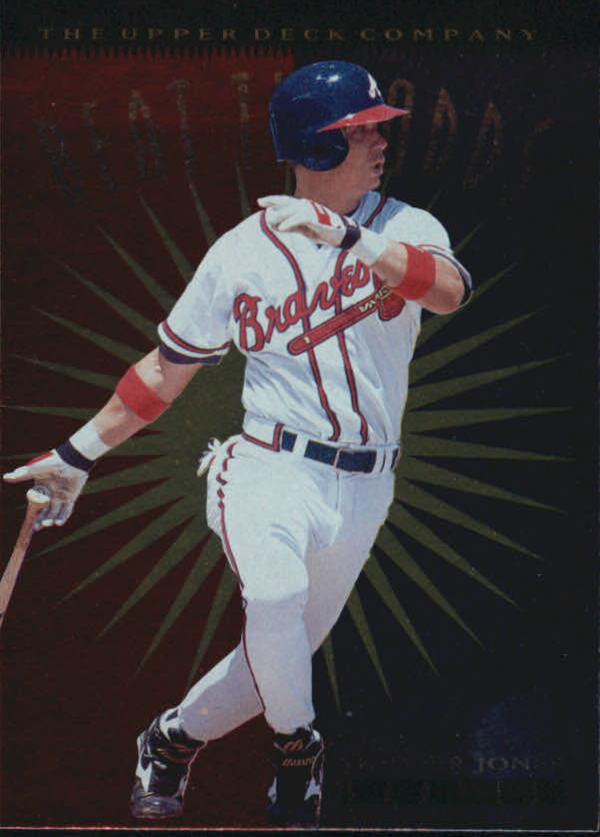 1996 Upper Deck #149 Chipper Jones BO
