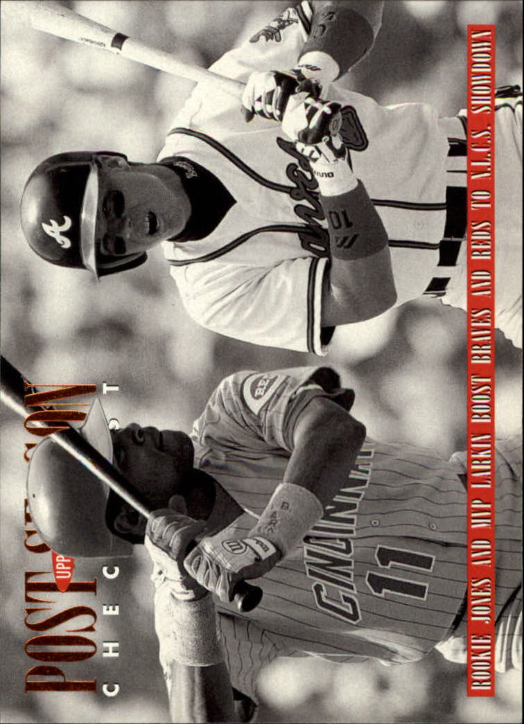 1996 Upper Deck #219 C.Jones/B.Larkin CL