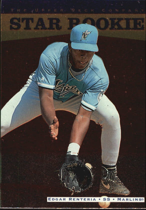 1996 Upper Deck #256 Edgar Renteria