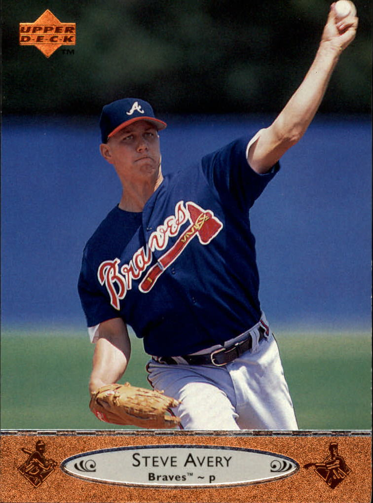 1996 Upper Deck #269 Steve Avery