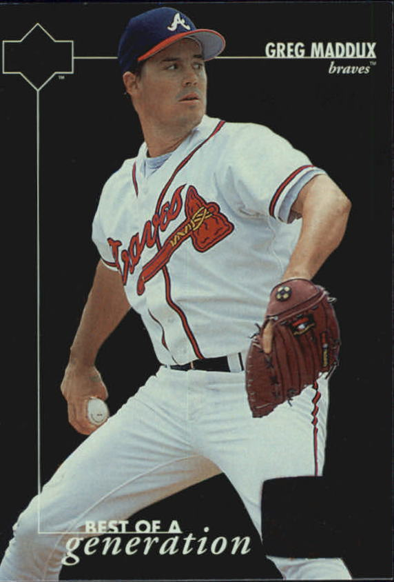 1996 Upper Deck #379 Greg Maddux BG