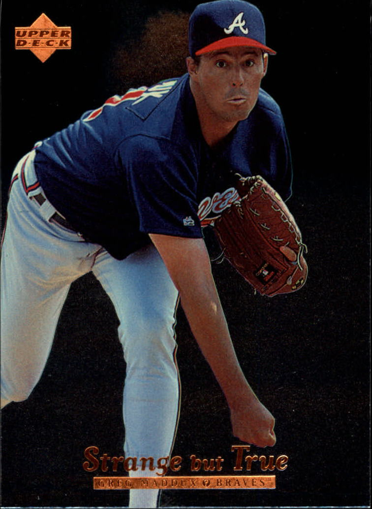 1996 Upper Deck #422 Greg Maddux SBT