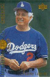 1996 Upper Deck #478 Tommy Lasorda CL