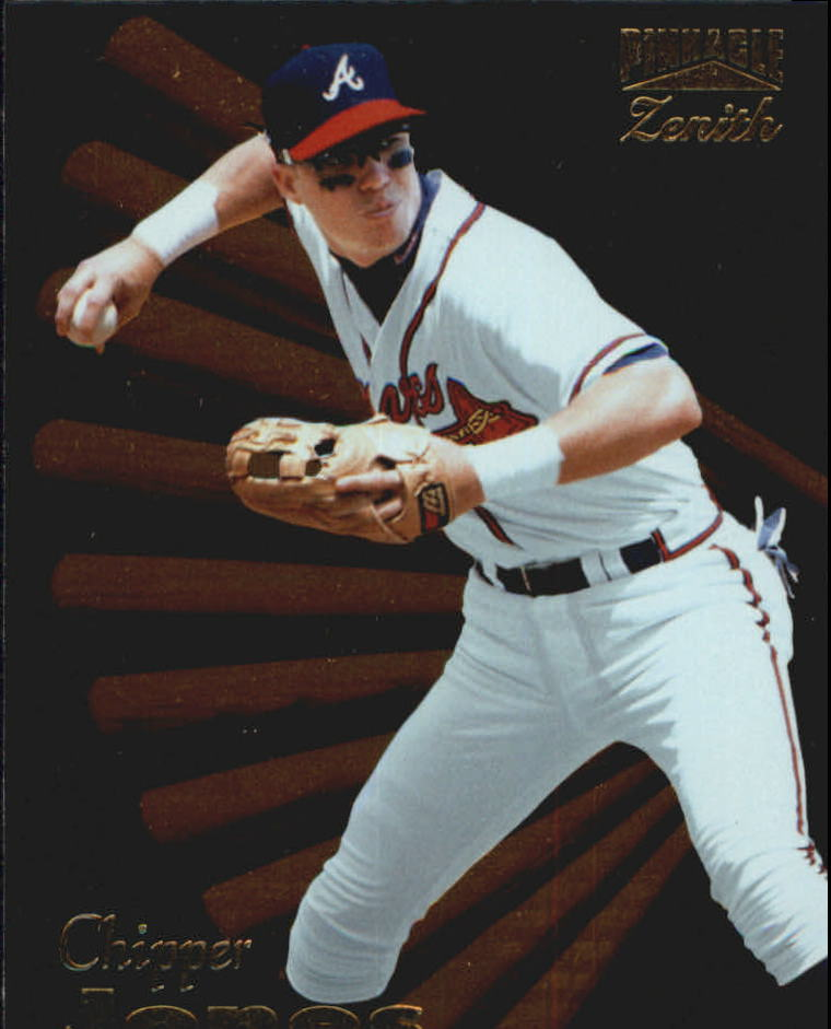 1996 Zenith #55 Chipper Jones