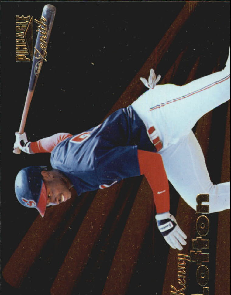 1996 Zenith #66 Kenny Lofton