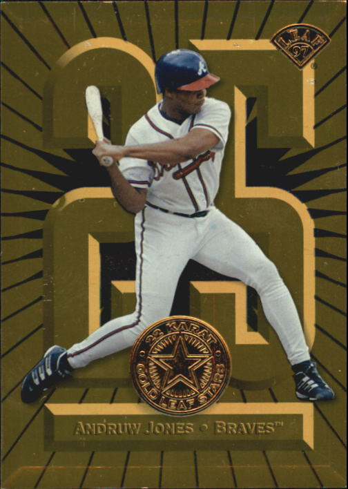 1997 Leaf Gold Stars #4 Andruw Jones