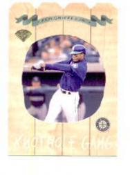1997 Leaf Knot-Hole Gang #2 Ken Griffey Jr.