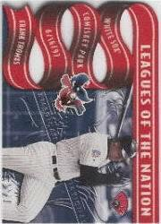 1997 Leaf Leagues of the Nation #7 S.Sosa/F.Thomas