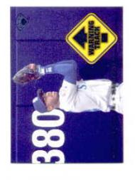 1997 Leaf Warning Track #1 Ken Griffey Jr.