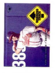 1997 Leaf Warning Track #4 Andruw Jones