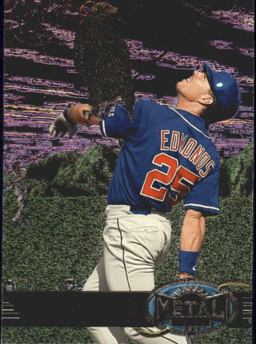 1997 Metal Universe #39 Jim Edmonds