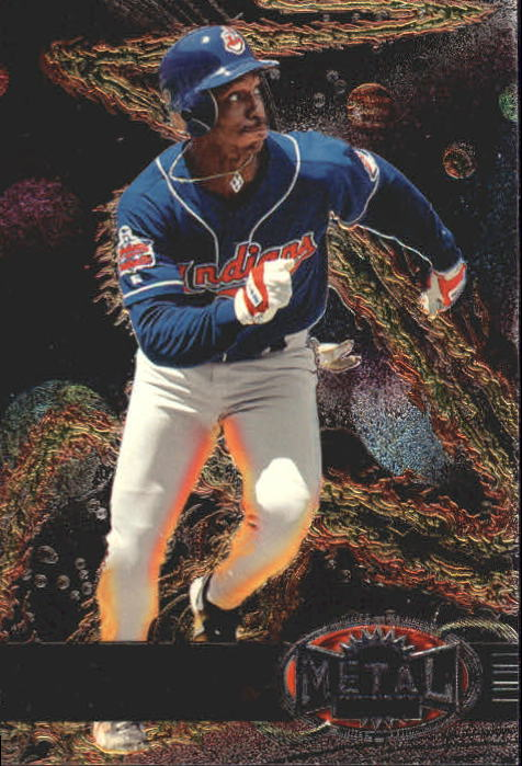 1997 Metal Universe #82 Kenny Lofton