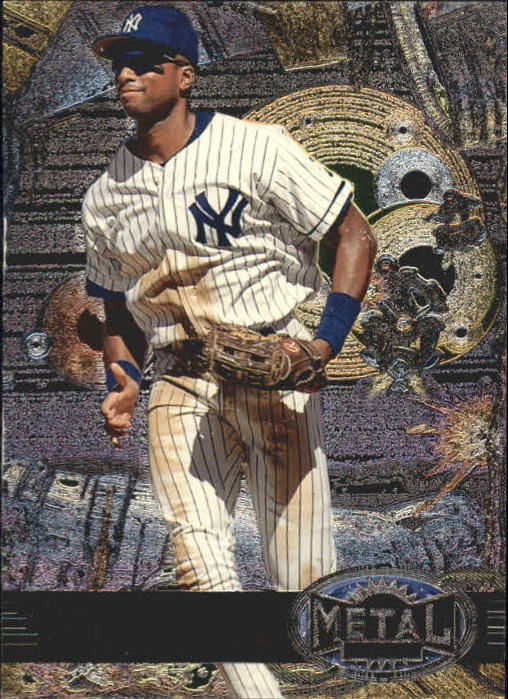 1997 Metal Universe #125 Bernie Williams