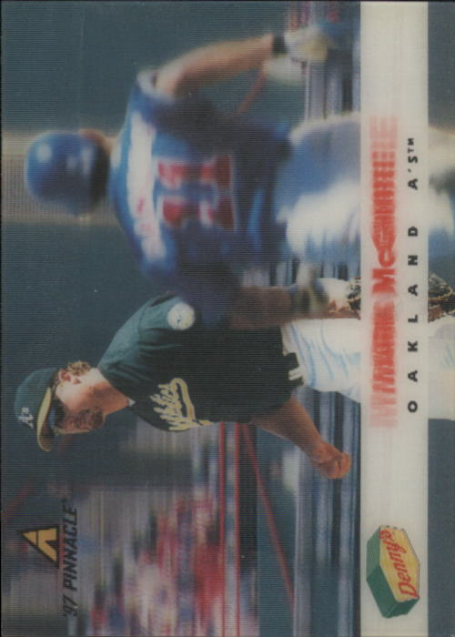 1997 Denny's Holograms #10 Mark McGwire