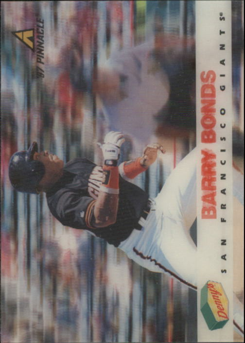 1997 Denny's Holograms #27 Barry Bonds