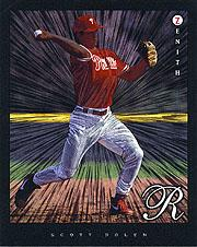 1997 Zenith 8 x 10 Dufex #24 Scott Rolen